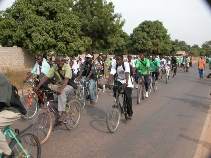 Parishes find a new use for old bicycles