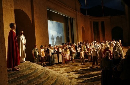A Passion Play that recalls an ancient vow