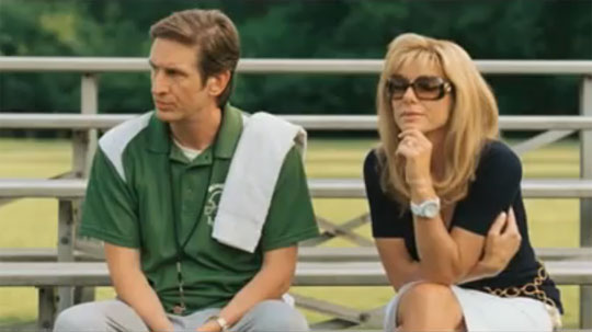 A morality tale of Christian charity: The Blind Side reviewed