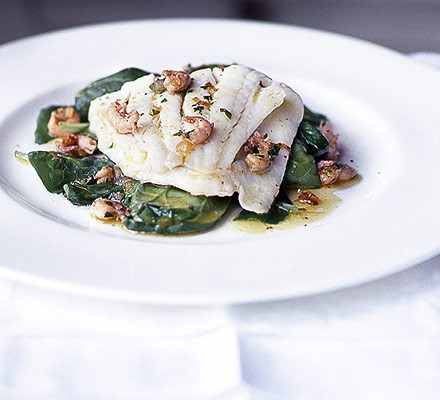 This week's recipe: Plaice with brown shrimp butter
