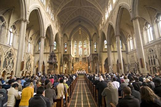 Churches take lead in hustings