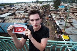 Actor backs Christian Aid week