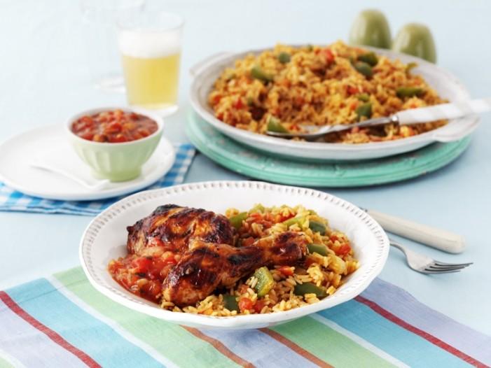 Recipe: Salsa Jambalaya Rice