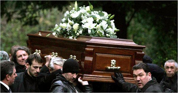 Bishop blasts trendy funerals
