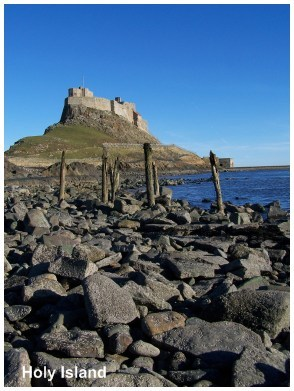 Exploring Holy Island today