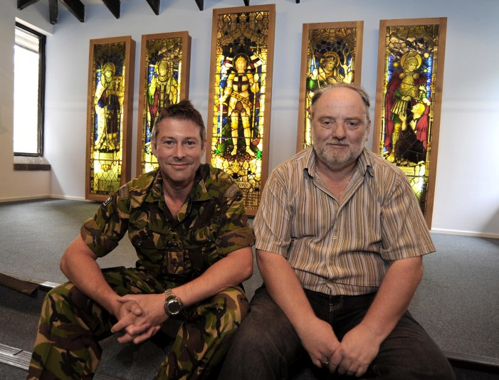 Marines share their stained glass windows