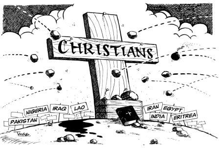 The persecution of Christians is on the rise