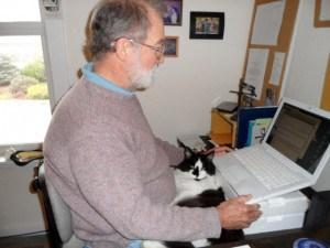 Editor of Daniel & Daniel at his desk