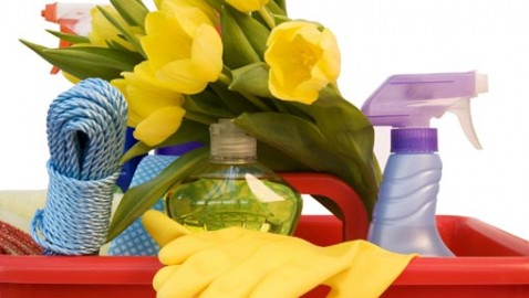 Spring clean the natural way