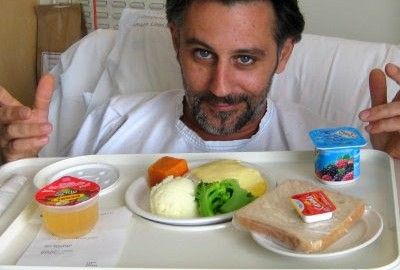 The scandal of hospital food