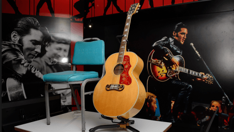 Elvis Exhibition at The O2 – The largest retrospective ever displayed in Europe.