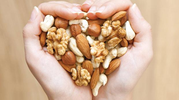 Eating a handful of nuts can cut your risk of dying