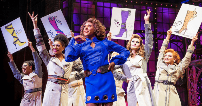 Review: 'Kinky Boots' is a shoe-in for a good time