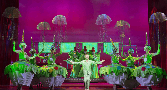 Priscilla Queen of the Desert is a glitterball of camp