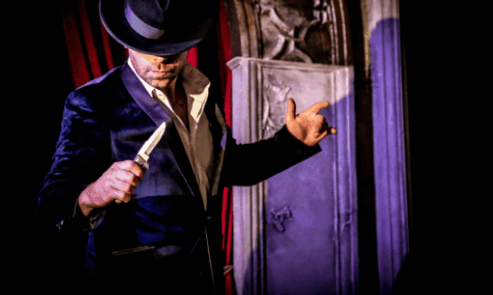 Experience the dark side with this new one man magic show