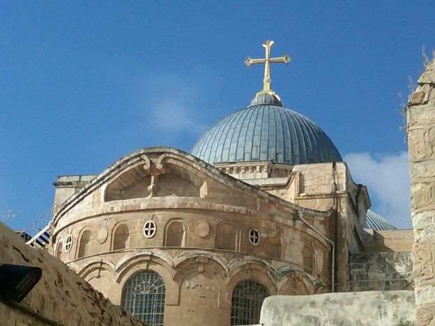 The Holy Land is the prime destination for Christian pilgrimage