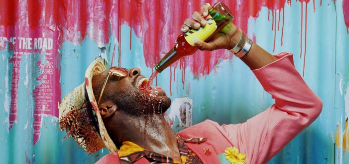 Theatre choice: They drink it in the Congo