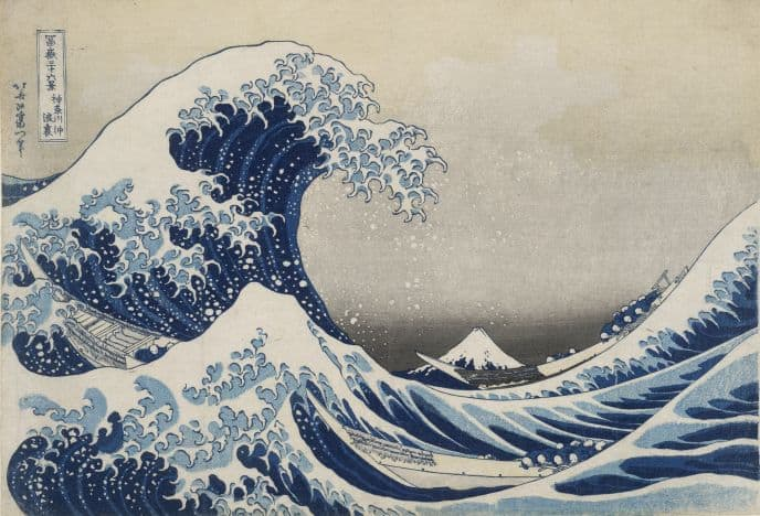The Art of Hokusai – riding the Great Wave