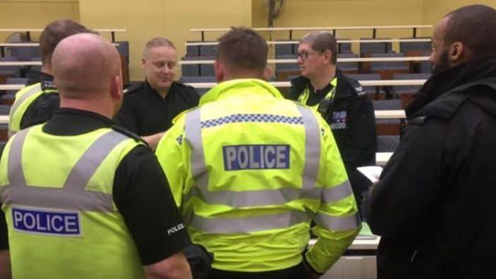 Tackling police suicides