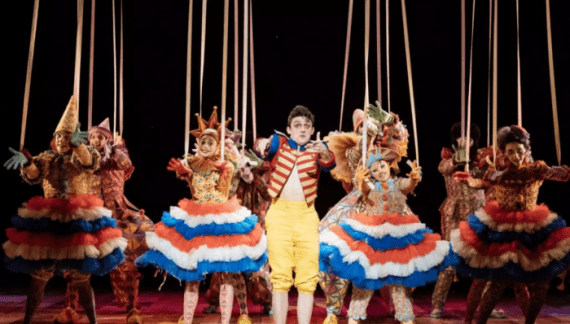 Pinocchio at the National Theatre – review