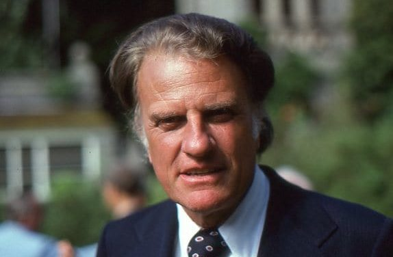 Billy Graham: 'his works will follow him'