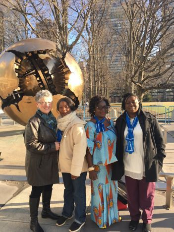 Mothers' Union at the United Nations