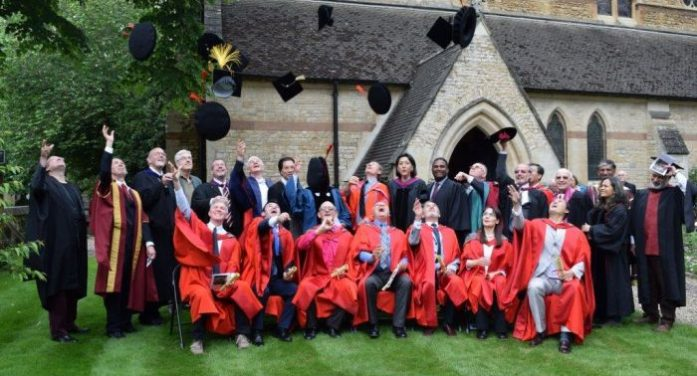 OCMS graduates called to put scholarship at the heart of service