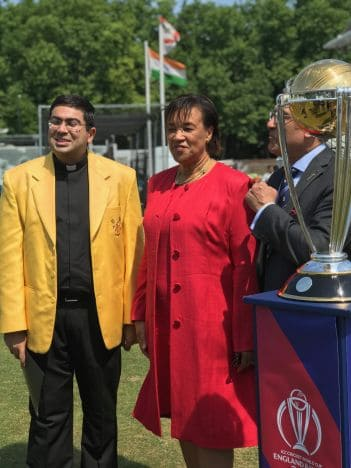 Faith comes into play in cricket