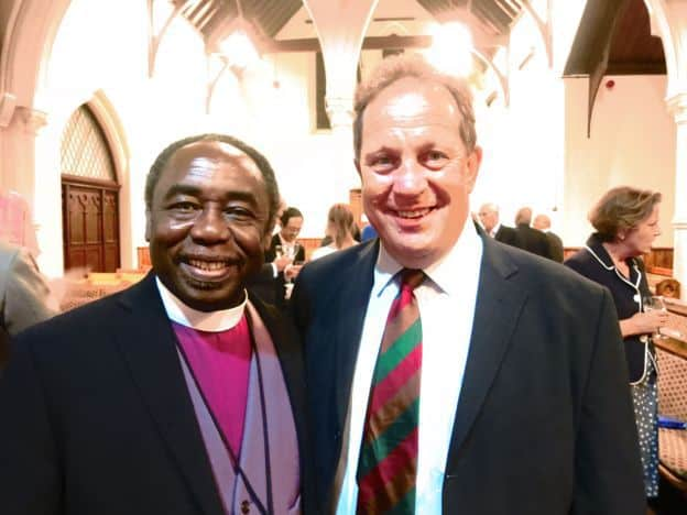 Andy Lines commissioned for ministry with Gafcon