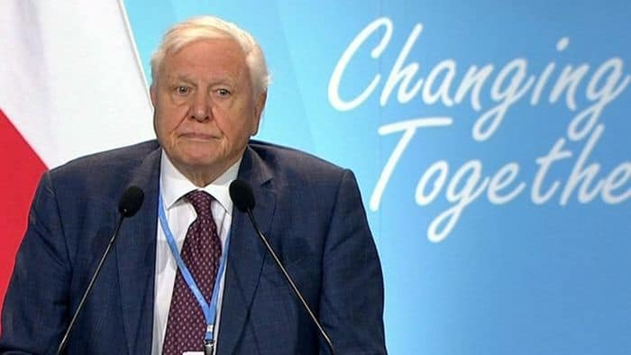 Attenborough enlists chat bot to save the planet