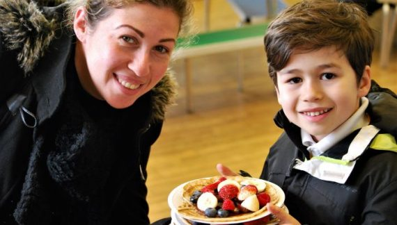 Making a difference – with pancakes!