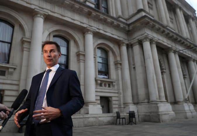 Two cheers for Jeremy Hunt
