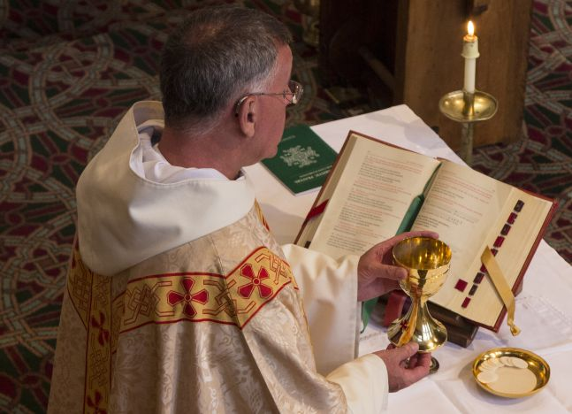 The place of the Eucharist