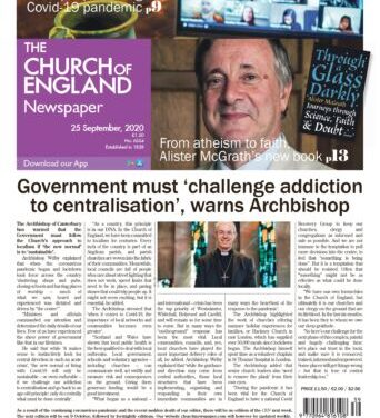 New edition of The Church of England Newspaper now online